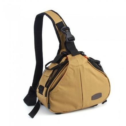 Caden K1 Waterproof Fashion Casual DSLR Camera Bag Case Messenger Shoulder Bag for Canon Nikon Sony