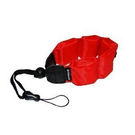 Digital Camera Underwater Accessory Kit - Foam Floating Strap - Red