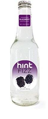 Hint Fizz Blackberry 12 Ounce (Pack of 12)