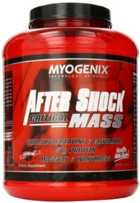 Myogenix Aftershock Critical Mass Vanilla Milk Shake 5.62 Pounds
