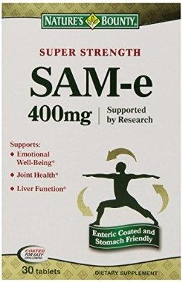 Nature's Bounty SAM-e 400mg 30 Tablets