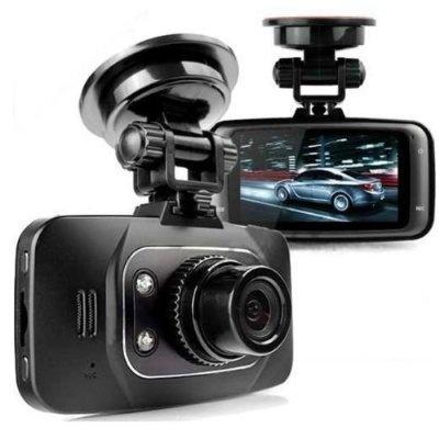 Night Vision Hd 1080p Car DVR Vehicle Camera Video Recorder Dash Cam G-sensor Gs8000l Black
