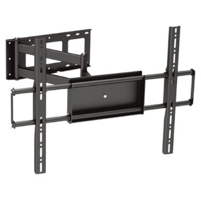 Black Full Motion Tilt Swivel Corner Friendly Wall Mount