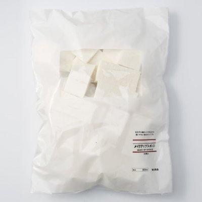 MUJI Makeup Sponges (Cosmetic Wedges) 30pcs Pack