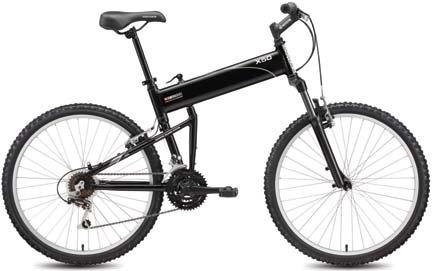 Montague SwissBike X50 18 Speed Folding Full Size Dual Sport Bike