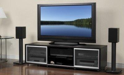 Plateau Sr V 65 E Wood Tv Stand 65 Inch Espresso Finish For Sale