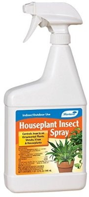 Monterey Lawn and Garden LG6198 Houseplant Insect Spray 32-Ounce