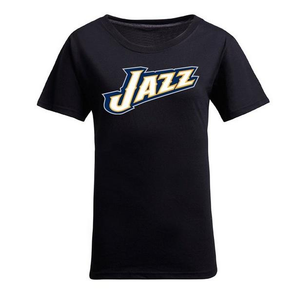 NBA Utah Jazz Women's Jersey T-Shirt (Black