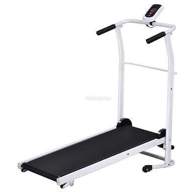 Portable 500W Folding Electric Treadmill Motorized Jog Running Machine battery