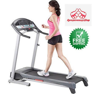 FOLDING ELECTRIC TREADMILL Cardio Workout Incline Fitness Exercise Machine Home