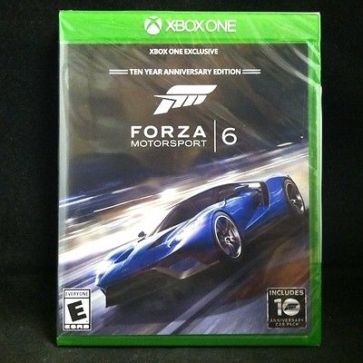 forza motorsport 6 ten year anniversary edition xbox one. Black Bedroom Furniture Sets. Home Design Ideas