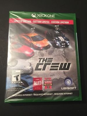 The Crew Limited Edition Xbox One NEW – For Sale