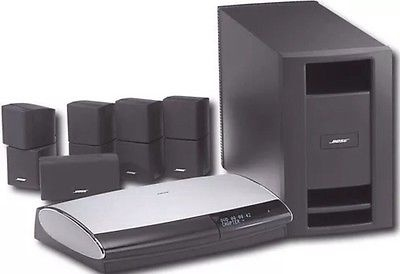 bose lifestyle 28 series iii 5 1 channel home theater. Black Bedroom Furniture Sets. Home Design Ideas