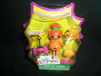 Lalaloopsy Mini Halloween 2013 Pumpkin Candle Light Doll