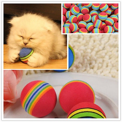 2015 new Funny No Harm Pet Small Dog Puppy Cat Play Chew Treat Ball Toy Training