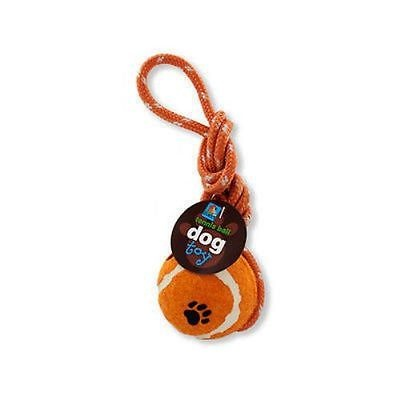 Dog Tennis Ball Pet Toy Play Fetch Throw Balls Toys Dogs Puppy Rope