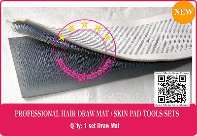 Hair Extensions Draw MatSkin Pad to Making Lace Wigs Toupee Hairpiece Dolls