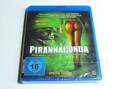 PIRANHACONDA Blu-Ray Import REGION B Brand New RARE HORROR MOVIE!