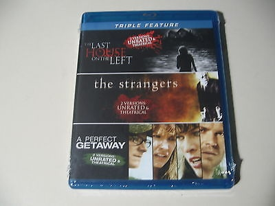 The Last House on the LeftThe StrangersA Perfect Getaway (Blu-ray Disc) NEW