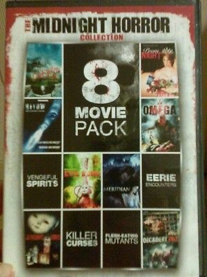 The Midnight Horror Collection Vol. 1 (DVD 2011 2-Disc Set)