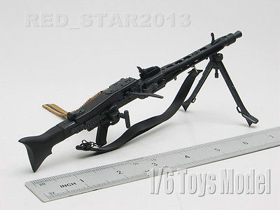 16 DRAGON Model Toy WWII German MG-42 Machine Gun Fit for 12 Action Figure