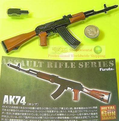16 Scale Action Figure GUN MANIA TYPE 74 RUSSIAN ASSAULT RIFLE Furuta_M4