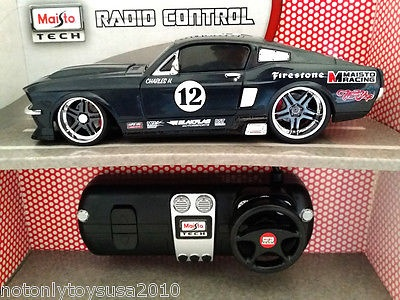 124 Remote Control RC 1967 Ford Mustang GT ... & 124 Remote Control RC 1967 Ford Mustang GT Maisto Racing #12 car ... markmcfarlin.com