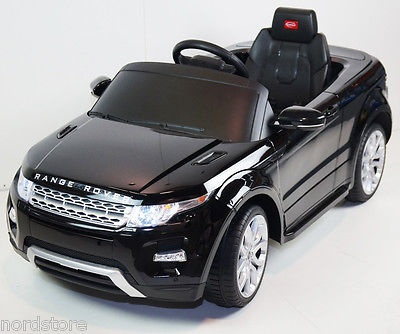 Ride On Toy Car Range Rover Evoque 12volts Battery Operated Remote