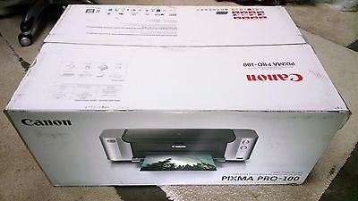 CANON PIXMA PRO-100 DIGITAL PHOTO INKJET PRINTER (NO INK or PRINTHEAD)