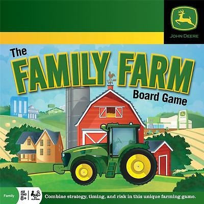 NEW Board Game John Deere THE FAMILY FARM Age 8+