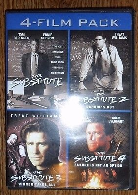 4-Films  The Substitute Collection (DVD3 disc set)
