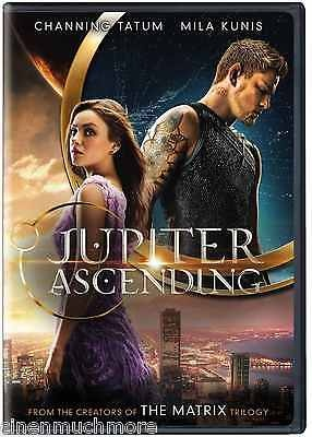 Jupiter Ascending ( 2015) DVD Format- FROM THE CREATORS OF THE MATIX