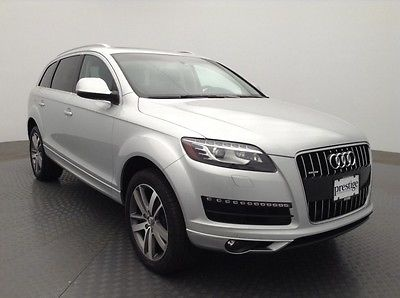 2013 audi q7 3 0t premium plus for sale. Black Bedroom Furniture Sets. Home Design Ideas
