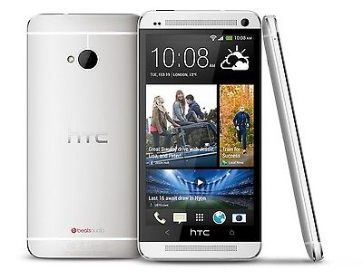 Factory Unlocked HTC One M7 32GB Silver Verizon Smartphone HTC6500LVW