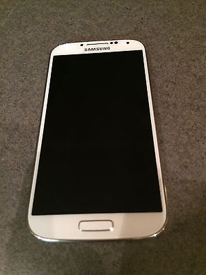 Samsung Galaxy S4 M919 16GB - T-mobile Smartphone WHITE FROST Excellent Condtn