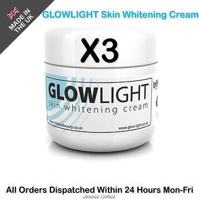 New Skin Whitening Lightening Cream Bleaching AgeDark Spots Acne Scars-3x50gPot