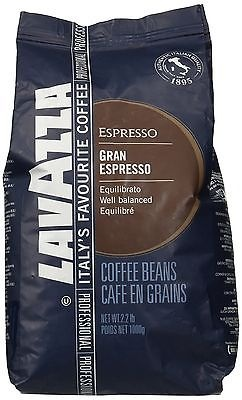 Lavazza Italian Grand Espresso Whole Beans (2.2 lb bag) Aroma Cafe Culture