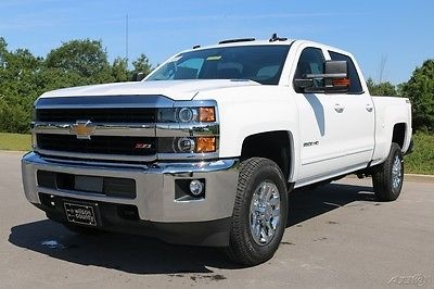 2016 chevrolet silverado 2500 crew cab lt z71 4 4 duramax summit whiteleather for sale. Black Bedroom Furniture Sets. Home Design Ideas