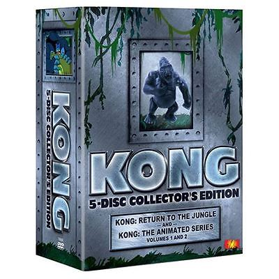 Kong 5 - Disc Collector's Edition TV Series DVD NEW