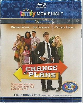 change of plans blu-ray dvd and cd 3 disc bonus pack new 2010