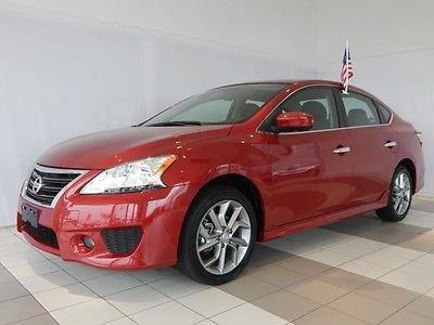 2014 Nissan Sentra Sr Bright Red For Sale